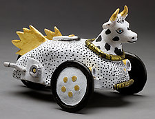 Got Milk? by Byron Williamson (Ceramic Sculpture)