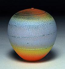 Band of Blue by Nicholas Bernard (Ceramic Vessel)