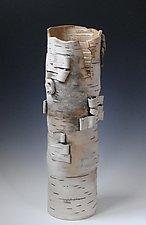 Warm Birch by Lenore Lampi (Ceramic Vase)