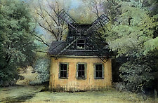 The Windmill in Summer by Elizabeth Holmes (Infrared Photograph)