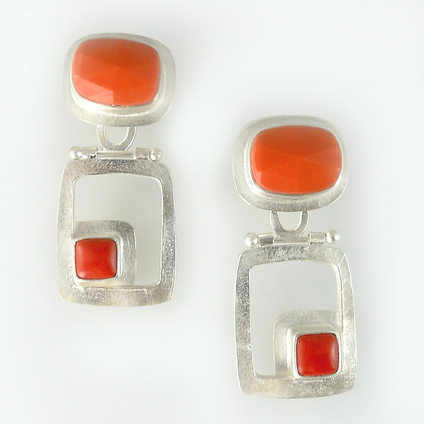 Modern Hinged Earrings