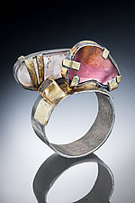 Tourmaline Ring by Nina Mann (Gold, Silver & Stone Ring)