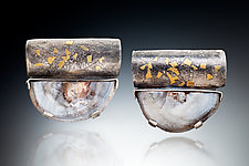 Gorgeous Earrings by Nina Mann (Gold, Silver & Stone Earrings)