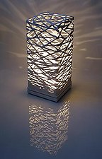 Table Luminaire by Muhammad Moussa (Ceramic Table Lamp)