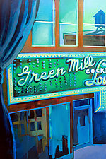 Green Mill Lounge by Jason Watts (Oil Painting)