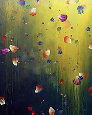 Garden Shadows by Marlene Sanaye Yamada (Acrylic Painting)