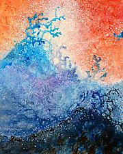 Great Waves by Marlene Sanaye Yamada (Acrylic Painting)