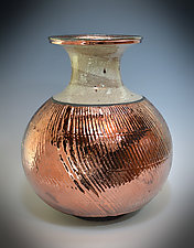 Luster Vase by Tom Neugebauer (Ceramic Vase)