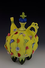 It's My Party by Laura Peery (Ceramic Teapot)