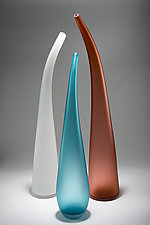 Time Together III by Christopher Jeffries (Art Glass Sculpture)