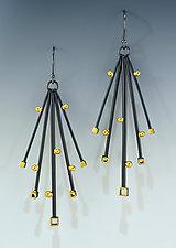 Stardust Earrings by Bethany Montana (Gold & Silver Earrings)