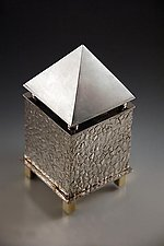 Spice Box by Joy Stember (Metal Spice Box)