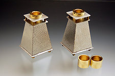 Tappered Candle Stick Holder by Joy Stember (Metal Candleholders)