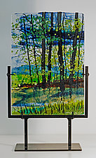 Reflections of France by Alice Benvie Gebhart (Art Glass Sculpture)