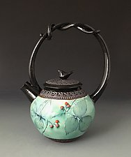 Little Bird Teapot by Suzanne Crane (Ceramic Teapot)