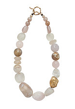 Blush Necklace by Julie Cohn (Bronze & Stone Necklace)