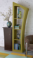 Reversible Stacked Cabinet by Vincent Leman (Wood Bookstand)