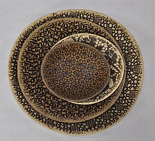Textural Nesting Bowl Set by Kelly Jean Ohl (Ceramic Bowl)