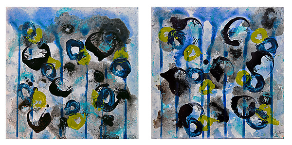 Bloom #6 Diptych