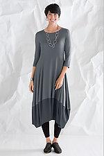 Kati Colorblock Dress by Comfy USA  (Knit Dress)