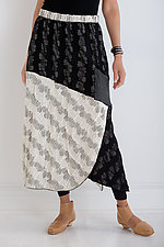 Sgraffito Skirt by Noblu   (Knit Skirt)