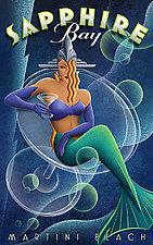 Sapphire by M. Kungl (Iris Print)