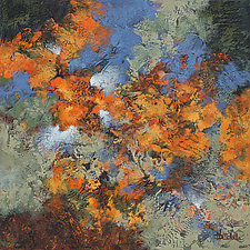Autumn Whirl by Nancy Eckels (Acrylic Painting)