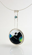 Counterpoint II by Jan Van Diver (Enameled Necklace)