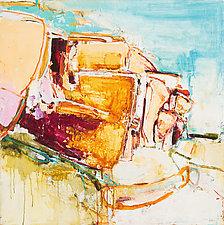 Prairie Chronicle 6 by Meghan Wilbar (Oil Painting)