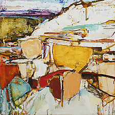 Prairie Chronicle 4 by Meghan Wilbar (Oil Painting)
