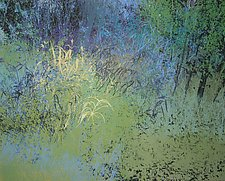 Spring Blessings by Jan Jahnke (Mixed-Media Painting)