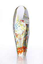 Eternal Flame by Benjamin Silver (Art Glass Paperweight)