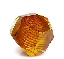 Canyon Ball by Benjamin Silver (Art Glass Paperweight)