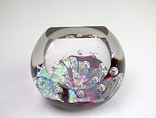 The Ruby Jewel by Benjamin Silver (Art Glass Paperweight)