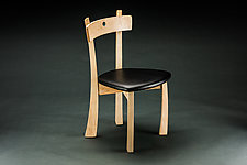 Blue Dot Chair by Todd  Bradlee (Wood Chair)