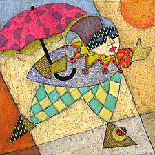 Rain Dance by Penny Feder (Giclee Print)