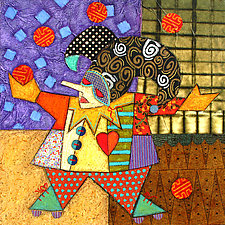 The Juggler by Penny Feder (Giclee Print)