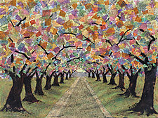Summer Path by Penny Feder (Giclee Print)