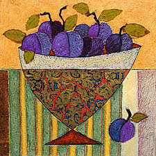 Regal Plums by Penny Feder (Giclee Print)