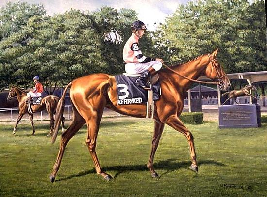 Affirmed at Belmont