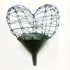 Funnel of Love II by Barbara Gilhooly (Metal Wall Sculpture)