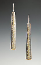 Gold Dust Earrings by Dean Turner (Gold & Silver Earrings)