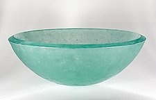 Square Segments Basin by George Scott (Art Glass Sink)