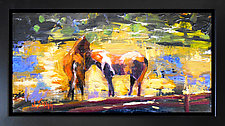 Pasture Buddies by Janice Sugg (Oil Painting)