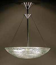 Water Series Deep Bowl by George Scott (Art Glass Pendant Lamp)