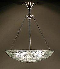 Water Series Deep Bowl by George Scott (Art Glass Pendant Lamp)