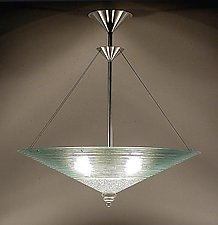 Concentric Rings by George Scott (Art Glass Pendant Lamp)