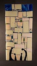 Western Wall Humble by Vicky Kokolski and Meg Branzetti (Art Glass Wall Sculpture)