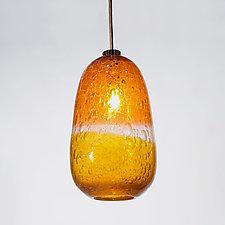 Enoki Blackburn Pendant by Tracy Glover (Art Glass Pendant)