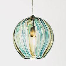 8 Globe Pendant by Tracy Glover (Art Glass Pendant Lamp)